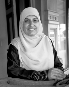 Nada Roude Founder of the United Muslim Women's Association. © Darrin Manuel, Barrier Daily Truth.